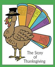 How to Make Crafts, Games, and Learning Activities Relating to Thanksgiving and Being Thankful