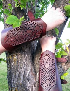Fili the Dwarf The Hobbit Inspired Leather by LongbeardLeathers