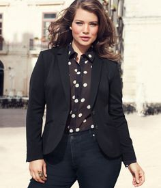 H blazer #plus #size