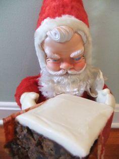 Baby Santa Christmas Cake