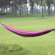 18.84$  Buy here - http://alixp4.shopchina.info/go.php?t=32615189823 - Parachute cloth hammock on the way Double hammock Lovers swing hammock Leisure hammock Camping equipment  #magazineonlinebeautiful