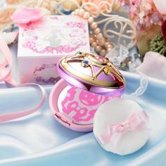 Bandai's Sailor Moon Crystal Star Brooch with makeup. I know. I know. But you know what? I do what I want!