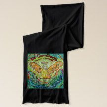 What Cancer Cannot Do Rainbow Angel Scarf Design with What Cancer Cannot Do Poem Teal Ribbon, Ribbon Art, Ribbon Colors, Cancer Quotes, Guardian Angel Pictures, Different Types Of Cancer, Childhood Cancer, Scarf Design