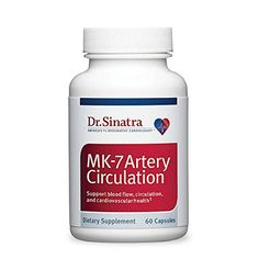 Dr. Sinatra's MK-7 Artery Circulation, 60 soft gels (30-day supply) >>> You can get additional details at the image link.