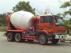 NISSAN in Brunei Cement, Concrete, Nissan Diesel, Nissan Trucks, Flatbed Trailer, China Hong Kong, Macau, Commercial Vehicle, Mixers