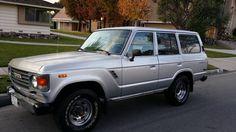 For Sale: 1985 Toyota Land Cruiser FJ60 4X4 All Original 127.000 Miles No Rust - Everything FJ60