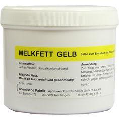 MELKFETT veterinär:   Packungsinhalt: 300 g ointment PZN: 00666495 Hersteller: Pharmamedico GmbH Preis: 2,50 EUR inkl. 19 % MwSt. zzgl.…