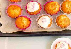 Papaija-Mango Cupcakes