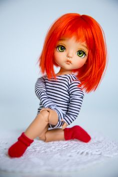 Lati SBelle tan Pretty Dolls, Beautiful Dolls, Blythe Dolls, Barbie Dolls, Cute Girl Hd Wallpaper, Red Hair Doll, Monkey Doll, My Doll House, Cute Baby Dolls