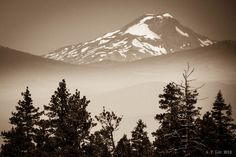 South Sister from Newberry Volcano by A. F. Litt on 500px
