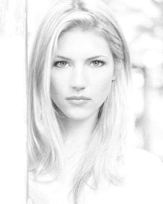 White Photography, Portrait Photography, Editorial Photography, Katheryn Winnick, Good Poses, Portraits, Close Up Photos, Black And White Pictures, Female Portrait