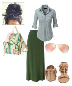 Untitled #76 by tonidanny on Polyvore featuring polyvore LE3NO Kenzo Qupid Ray-Ban fashion style clothing
