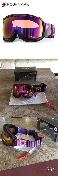 "Roxy Snowboard/Ski goggles New Roxy ""Isis"" snowboard/ski goggles, New in box Roxy Accessories"