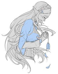 Zelda Breath of the Wild The Legend Of Zelda, Legend Of Zelda Breath, Zelda Twilight Princess, Princesa Zelda, Film Manga, Fanart, Link Zelda, Ecchi, Breath Of The Wild