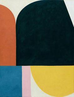 Bernhard Buhmann contemporary abstract art painting via artsy. / sfgirlbybay #abstractart