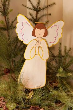 MD Anderson White Angel Medium by The Round Top Collection C8106