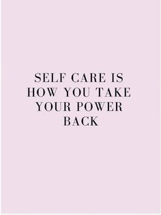 Skincare is a huge part of my self-care, but not for the reasons that you may think.