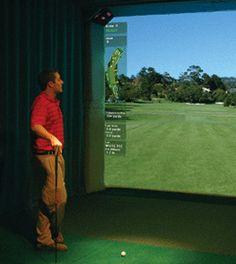 7 Best Indoor Golf Images Golf Simulators Indoor Interior