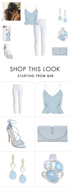 """""""Untitled #1279"""" by carole-hadad on Polyvore featuring Barbour, River Island, Steve Madden, Kin by John Lewis, Saks Fifth Avenue and Casetify"""