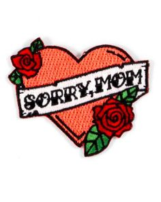 Hello Holiday · Sorry, Mom Patch
