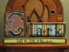 Personalized and Customized  Boys Name by PunkinSeedProduction, $29.00