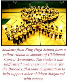 THANK YOU KING HIGH STUDENTS, STAFF & FACULTY!