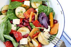 Roasted Vegetable Salad  Healthier. Happier. is all about change and making Queensland the healthiest state. When our bodies and minds are healthy, we feel better, we look better, we have more energy and we're able to get more out of life.