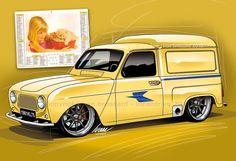 """Renault 4L """"La Poste"""""""