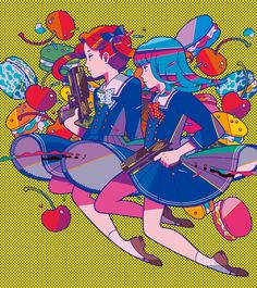 Utomaru is a freelance illustrator & graphic designer. Based in Tokyo, Japan. CONTACT :...