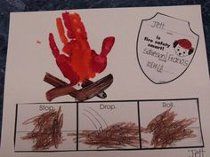 fire safety week pre-k kindergarten Fire Safety Crafts, Fire Crafts, Fire Safety Week, Fall Preschool, Preschool Themes, Preschool Crafts, Classroom Activities, Classroom Ideas, Science Crafts