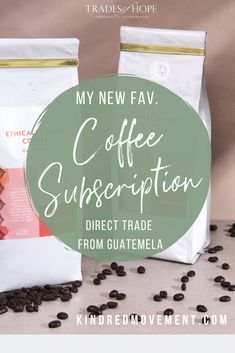 Trades of Hope Coffee Subscription Guatemala Coffee, Coffee Industry, Coffee Subscription, Coffee World, Free Facebook, Blended Coffee, More Fun, Messages, Hands