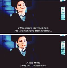 Missy is becoming the Crowley of DW.