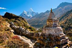 Sagarmatha National Park, Himalayan Mountain Range, Nepal