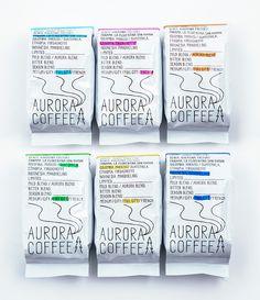 AURORA COFFEE Logo / Packege / Web 2014 Yamagata