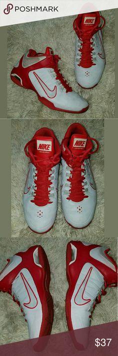 best website e435c d4c73 Men s Nike Air Visi Pro 4 Basketball Tennis Shoe Men s Nike Air Visi Pro 4  Basketball Tennis Shoe Sneakers Gray Red 9M Good condition.