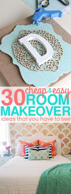 If you're looking for budget friendly ways to makeover your bedroom, then you have to see these cheap bedroom decorating ideas! You'll find so many diy decor ideas that you're budget will love. Update your bedroom with these cheap bedroom decorating ideas that won't break your wallet.