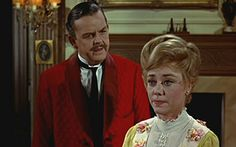 *MR. & MRS. BANKS ~ Mary Poppin's, 1964. The dress Mrs. Banks is wearing was always my favorite.