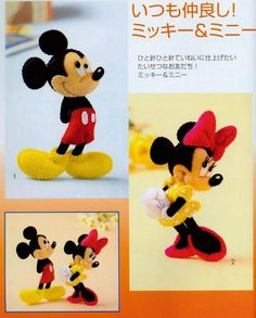 Eu Amo Artesanato: A Turma do Mickey Mouse