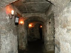 Edinburgh Vaults. Have to go down here to feel little Jacks hand.. Avoid Mr Boots though!