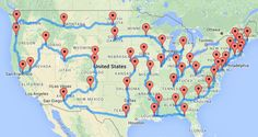 This Guy Planned The Most American Road Trip You Can Possibly Take