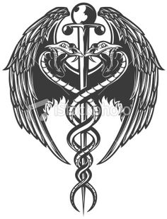 34 Ideas for medical tattoo ideas drawings Medical Posters, Medical Symbols, Medical Illustration, Photo Illustration, Caduceus Tattoo, Oliver Sacks, Nurses Week Quotes, Diabetes Tattoo, Medical Wallpaper
