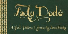 Lady Dodo font download