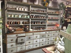 Rustic Country Kitchens, Country Decor, Farmhouse Decor, Apothecary Decor, Apothecary Cabinet, Find Furniture, Vintage Furniture, Rustic Loft, Apothecaries