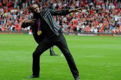Usain Bolt rêve toujours de Manchester United