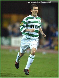 Jackie McNamara - Celtic FC - UEFA Cup Final 2003
