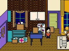 The Greatest Moments From Friends As 8-Bit GIFs