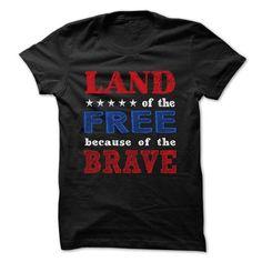 Land of the Free because of the Brave - shirt tee. Land of the Free because of the Brave, harvard sweatshirt,sweatshirt quotes. Sweatshirt Outfit, Baggy Hoodie, Hoodie Jacket, Adidas Hoodie, Braves Shirts, Tee Shirts, Xmas Shirts, Loose Shirts, Dress Shirts