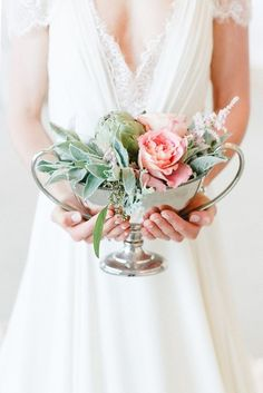 Pastel floral details: http://www.stylemepretty.com/destination-weddings/2014/09/30/germany-wedding-inspiration-clean-classic-elegant/ | Photography: Kibogo Photography - http://www.kibogophotography.com/