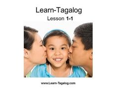 """Learn Tagalog Lesson 1-1. """"alanmillet"""" youtube username."""