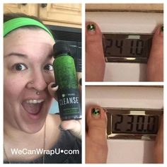 "THE CLEANSE STRIKES AGAIN! My sideline sister Carly's testimony:  ""Totally transparent here!   I started my cleanse on Tuesday morning (3/1/2016)  This morning .. After 48 hours ... (3/3/2016) I got rid of 11lbs.   I drank only water during the cleanse. I made healthy food choices. I took my greens and Core nutrition.   I am a happy happy camper!!!""  No chemicals, plant-based & ✔effective! Love this product!!❤❤❤"